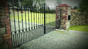 Wrought Iron Entrance Gate Waterford