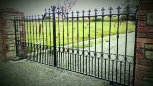 Wrought Iron Electric Gates Classic Gates Waterford